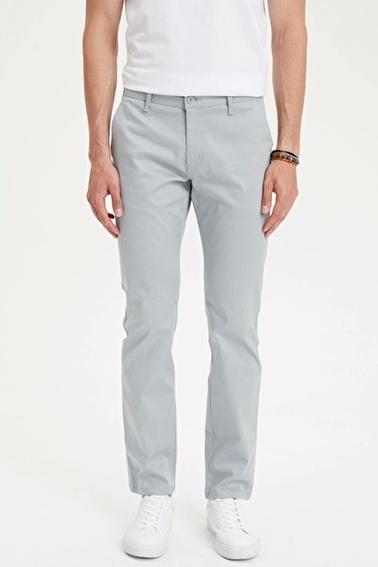 DeFacto Regular Fit Chino Pantolon Mavi
